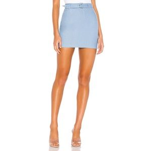 Superdown / Revolve Tinley Chambray Mini Skirt